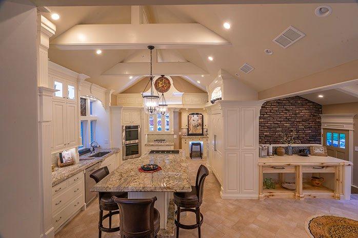 luxury kitchen redesign   Kitchen Remodeling - Luxury Home Improvement - Terre Haute, IN
